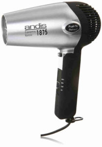 Andis 1875-Watt Fold-N-Go Ionic Hair Dryer With Folding Handle And Retractable Cord Reveiw