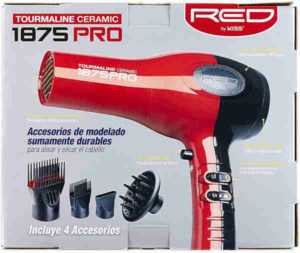 Red by Kiss 1875 Pro Hair Dryer For African American Hair