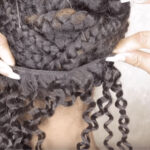 Synthetic & Natural Brazilian Short Kinky Curly Clip In Hair Extensions
