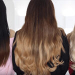 Blonde, Black & Grey Ombre Clip In Hair Extensions Sally Beauty