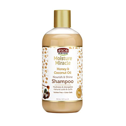 African Pride Moisture Miracle Honey & Coconut Oil Shampoo