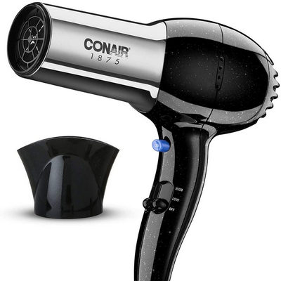 17. Conair 1875 Watt Ionic Ceramic Hair Dryer
