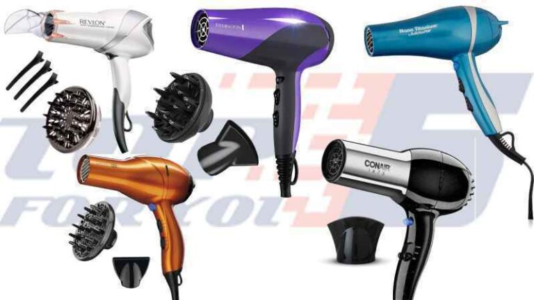 Top 10 Best Hair Dryers for African American Hair with Comb Attachment
